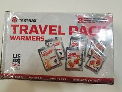 Hand Warmers Body Warmers Toe Warmers 8 each NEW  Yaktrx $18.95