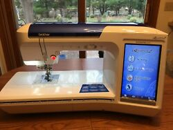Brother Quattro 2 SewingEmbroidery Machine similar to Baby Lock Ellisimo 2