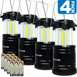 LED Camping Lantern Costech Portable COB Light Ultra Bright Collapsible Lamp $21.99