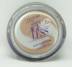 CoverGirl Simply Ageless Anti-Wrinkle 225 Buff Beige Make Up Exp 718
