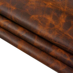Springfield Leather Co. Copper Cowboy Oil Tan Leather Rough Cut per SQFT $12.95