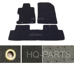 New 3 Pieces Black Nylon Carpet Floor Mats Fit For 06 11 Honda Civic 2 4 Doors $39.99