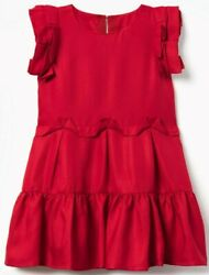 Gymboree nwt Christmas Holiday red fancy girls dress size 4 $19.99