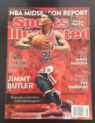 JIMMY BUTLER FIRST SPORTS ILLUSTRATED 22315 NEWSSTAND NO LABEL CHICAGO BULLS