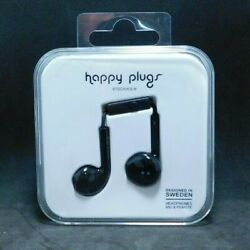 #664B  Happy Plugs Earbud Plus Headphone - Black