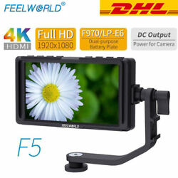 FEELWORLD F5 5 inch Small HD 1920x1080 LCD DSLR Monitor $159.00