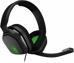 ASTRO Gaming A10 GreenBlack 3.5mm Boom Mic Gaming Headset Xbox One