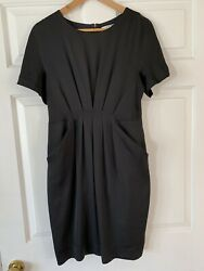 COLLECTIVE CONCEPTS Black Cocktail Dress With Pockets Women#x27;s Small