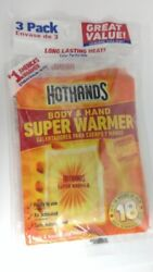 3Pack - HotHands Body & Hand Super Warmer $7.99