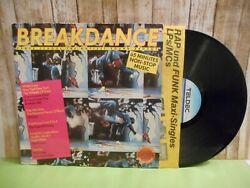 Breakdance - Dance School The Hottest Sound Around LP Vinyl 12
