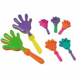 7.5#x27;#x27; Hand Clappers Noisemakers Meat Raffle Party 12 Pieces Per Order $9.95