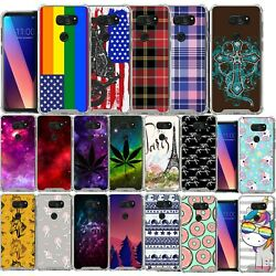 For LG V40 ThinQ Slim Cover Clear Bumper Protective Shock TPU Case $10.99