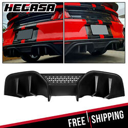 Fits 15-17 Ford Mustang R-Spec V2 Rear Diffuser Lower Valance for NON PREMIUM PP $78.50