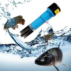 70W Electric Waterproof Fish Scale Remover Scraper Scaler Clean Stainless Steel $69.98