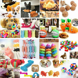Kitten Play Squeaky Sound Interactive Game Funny Dog Pet Toys Catnip Sugar Candy C $1.19