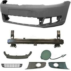 Set Bumper Front + Accessories VW Caddy Bj. 10-15 VW Touran 1T3 Year 10-15