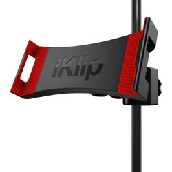 IK Multimedia iKlip 3 Deluxe Video Stand-Tripod Floor Tablet Microphone Holder