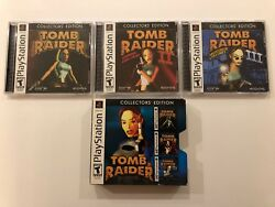 Tomb Raider Collector's Edition I  II  III [ Sony Playstation ] PS1 Complete