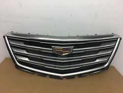 2017 2018 2019 2020 Cadillac XT5 Front Grille Black And Chrome OEM 17 18 19