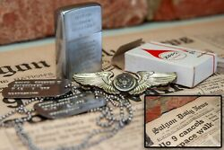 VIETNAM WAR ZIPPO LIGHTER WITH PROVENANCE  DOG TAGS  MEDALS  PHOTOS + MORE