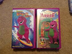 Barneys vhs Beach Party Come Over To Barneys House $9.50
