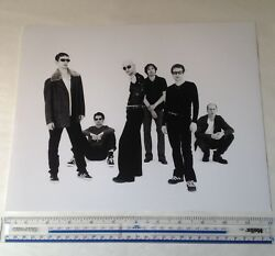 JAMES Band w Tim Booth Black & White Photographic Print Whiplash  She's A Star