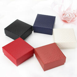 50pcs Ring Boxes Creative Ring Organizer for Graduation Christmas Party Ceremony