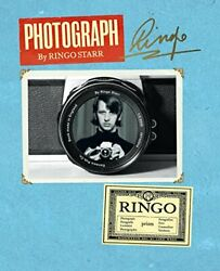 Photograph by Ringo Starr Hardcover Book