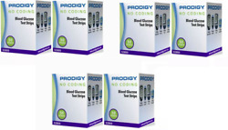 300 Prodigy No Coding  Blood Glucose Test Strips (6 boxes) exp 02152021