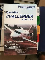 Challenger 604 Recurrent Training Manual