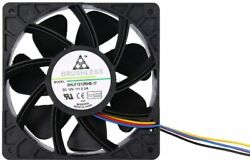 Replacement Fan for ALL Bitmain 12V 2.8A 7000 RPM 120x120x38mm 4pin $18.99
