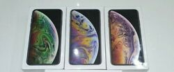 3 NEW Apple iPhone XS 512GB - SPACE GREY & SILVER & GOLD WORLDWIDE UNLOCKED