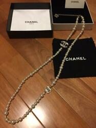 Chanel pearl necklace (2611