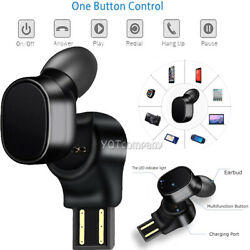 Wireless Sport Bluetooth In-Ear Earbuds Headset for iPhone 6 7 8 plus XR Xs max