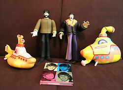 The Beatles Yellow Submarine Figures Lot McFarlane Toys Good Stuff 1999
