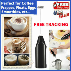Frother Electric Milk Mixer Drink Foamer Coffee Egg Beater Whisk Latte Stirrer $4.99