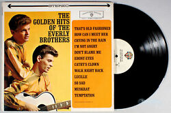 Everly Brothers - The Golden Hits of (1962) Vinyl LP • Greatest Best $8.99