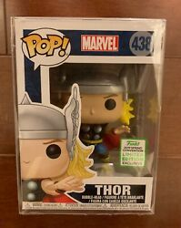 Funko Pop! Marvel Thor #438 (ECCC Spring Convention 2019 Exclusive) W Protector