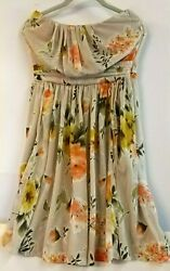 Mango Summer Dress Size M - Floral Design - Brand New with Tags RRP£52 $17.50