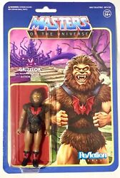 2019 SUPER 7 MOTU REACTION SHE-RA GRIZZLOR MOC IN HAND AND READY TO SHIP!!!
