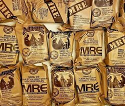 MRE US ARMY Military Issued Ration Meals Ready To Eat MRE - BUY 2 GET 1 FREE