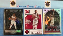 2018-19 Chronicles WENDALL CARTER JR. Lot X 3  Obsidian  # 149  Bulls