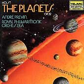HOLST: THE PLANETS OP. 32~ANDRE PREVIN & ROYAL PHILHARMONIC ORCH. Sealed CD