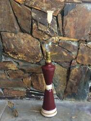 Antique Aladdin glass table lamp with original finial C $150.00