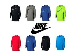 🔥🔥🔥NEW Big Boys Age 8 20 Nike DRI FIT Legacy Long Sleeve Tee Top Size S to XL $30.00