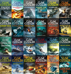 The DIRK PITT Series By Clive Cussler (25 MP3 Audiobook Collection)