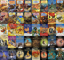 The DISCWORLD Series By Terry Pratchett ( 41 MP3 Audiobook Collection )