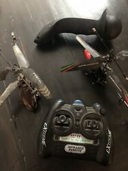 2 Remote Controlled Helicopters ** FOR PARTS ** Extreme Propel $25.00