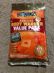 Hothands Adhesive Body Warmer 12 Pack $10.00