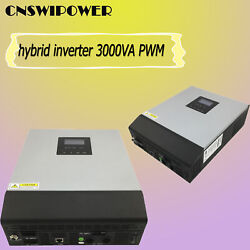 3000VA (2400W )Hybrid Off Grid Pure Sine Wave Power Solar Inverter  PWM